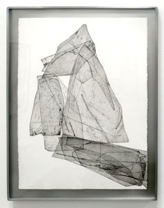 "EBEN GOFF  'batholith etchings': Aluminum plate monoprints on Rives BFK 22"" x 30"" in welded aluminum frames, 2010-2011."