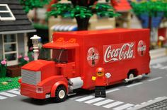LEGO City Soda Delivery Truck by ABSDistributors on Etsy, $55.00