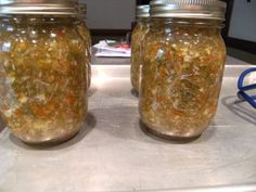 Homemade Sweet Pickle Relish recipe #canning #relish