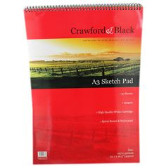 Crawford & Black - A3 Sketch Pad | Sketchpads at The Works