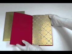 Superbly designed #wedding #invitation #card,outstanding color combination,You can directly buy @ http://www.scrollweddinginvitations.com/D-4884.html  Watch video @ http://youtu.be/YePviibDVmU