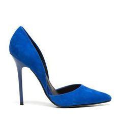 Steve Madden blauwe suède pumps VARCITYY online kopen