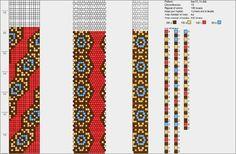 15 around bead crochet rope Crochet Bracelet Pattern, Crochet Beaded Bracelets, Bead Crochet Patterns, Crochet Motifs, Bead Crochet Rope, Bead Loom Bracelets, Beaded Bracelet Patterns, Peyote Patterns, Weaving Patterns