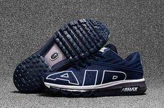 e55e736e01a05 Cheap Men Nike Air Max Flair 2017 KPU Running Shoes Sneakers Dark  Blue White 942236 401 For Sale . The Nike Air Max Flair puts a modern spin  on the iconic ...