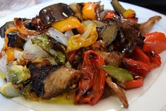 Σκέτη Απόλαυση σε χρώματα σε γεύση! Λαχανικά ψητά στο φούρνο! - Χρυσές Συνταγές Greek Recipes, Desert Recipes, Vegan Recipes, Cooking Recipes, Vegan Food, Side Dishes, Deserts, Brunch, Sweet Home