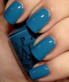 "OPI ""Suzi Says Feng Shui""-Hong Kong Collection Summer 2010. Color: creme; dusty medium blue. Wear: fall/winter months."