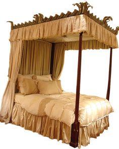 English Georgian bed