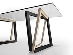 of QuaDror: A New Structural System - 2 Table by Dror Benshetrit utilizing his revolutionary system of space truss geometry, QuaDror. BenshetritTable by Dror Benshetrit utilizing his revolutionary system of space truss geometry, QuaDror. Metal Furniture, Table Furniture, Contemporary Furniture, Living Room Furniture, Furniture Design, Furniture Stores, Distressed Furniture, Office Furniture, Furniture Vintage