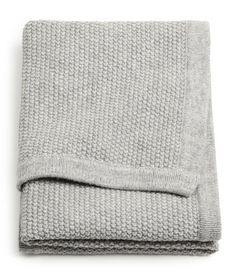 H&M - Knit Baby Blanket from H&M. Shop more products from H&M on Wanelo.