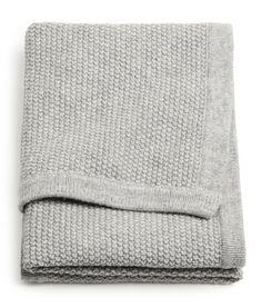 Gebreide babyplaid | Product Detail | H&M
