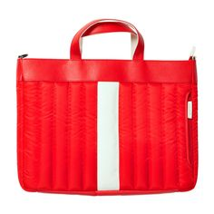 Assignment Bag Red - funky and perfect to tote a laptop around.