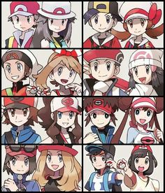The Generations of Pokémon Trainers !