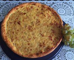 Rezept Weltbester Zwiebelkuchen - leichte Variante von sabinedrosdek - Rezept der Kategorie Backen herzhaft