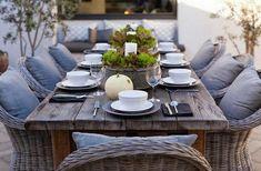 Muebles de jardín para el interior