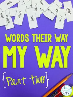 I'm baaaack! My original blog post about running Words Their Way, called Words Their Way: MY Way , is my most-visited and most-pinned ...