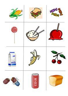 Healthy Foods Worksheet FREE DOWNLOAD