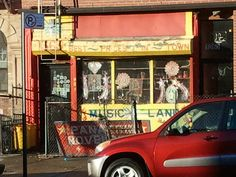 Music Land, St. John's Place, Crown Heights, Brooklyn NYC