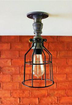 Rustic Lightening great for rustic industrial, rustic farmhouse lightening for Hanor Manor on Etsy. #hanormanor, #rusticlightening