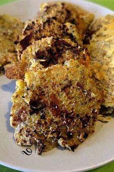Galettes au quinoa et aux champignons, une recette légère avec une petite salade pour le soir ou pour accompagner une viande blanche, pour un repas plus conséquent