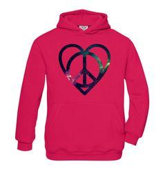 Peace�n�Love girls hoodie