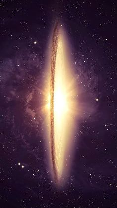 Sombrero Galaxy shot from the Hubble Space Telescope