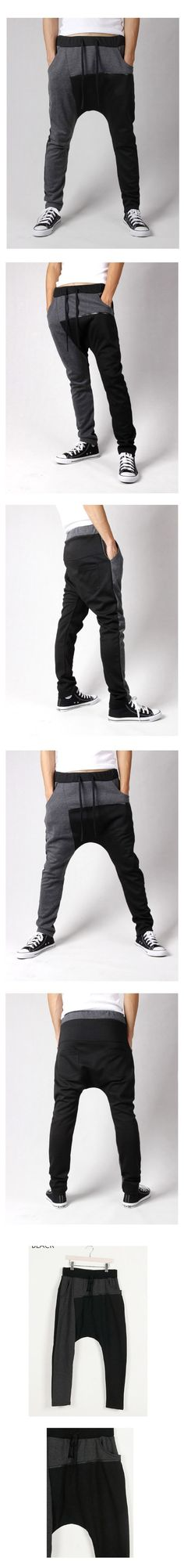 Loose Casual Harem Cross-pants for Men