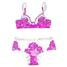 Pink lingerie IV