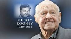 Mickey Rooney (born Joseph Yule, Jr.; September 23, 1920 – April 6, 2014) was an American actor of film, television, Broadway, radio, and vaudeville. Beginning as a child actor, 1st. wife was Ava Gardner. He was married 8 times.