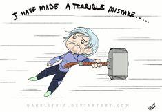 I have made a terrible mistake... || Pietro Maximoff || by DarkLitria || #animated #fanart