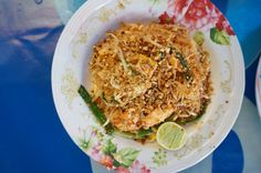 The best Pad Thai recipe is inspired by a Bangkok street vendor, whose authentic Pad Thai was so mind-blowingly delicious that I knew I had to make it at home.