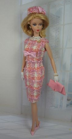 #Silkstone Barbie and Victoire Roux  Peony Pink