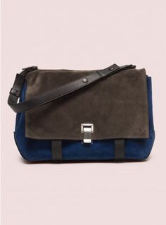 Large Courier Colorblocked - Proenza Schouler