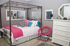 All of the spare bedrooms like this one are very comfortably sized. www.teamwoodall.com/472honeybee