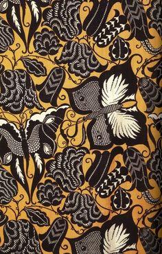 Dagobert Peche, butterfly pattern, designed 1913