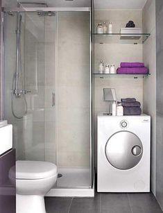Как красиво расположить стиральную машину в ванной: 6 умных идей | Филдс | Яндекс Дзен