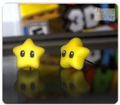 Super Mario star - Ohrringe