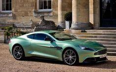 Aston Martin 2014 Vanquish in Motion