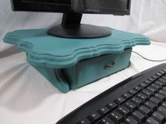 Elegant Monitor Stand Tugbox Combo Painted by ThePaperSkiff