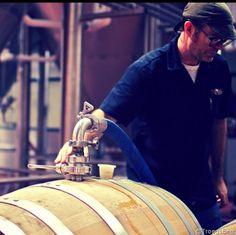 Troegs Filling Some Oak Barrels (Splinter?)