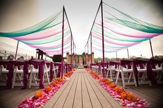 If it's an outdoor #wedding, then shade for the guests is essential. Paper umbrellas, #canopies, or trees...