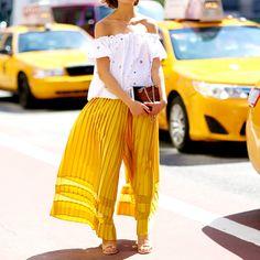 Streetstyle на Неделе моды в Нью-Йорке. Часть 7 | Мода | VOGUE