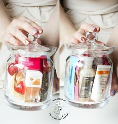 spa in a jar - D.I.Y. project. tutorial step by step with photos