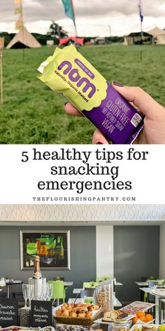 Emergency travel snack tips  When you're not in your own home or when you don't know where you're going or when you'll next get your hands on a proper meal, it's great to have emergency snacks at your side. I've put together this list of my best ideas for snacking on the road.