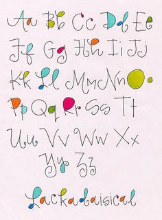 Alphabet   Lackadaisical                             by Robin                                                                                                                                                      More