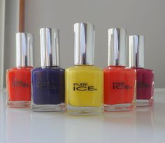 Pure Ice nail polish - classic, trendy, glitzy - you name it!