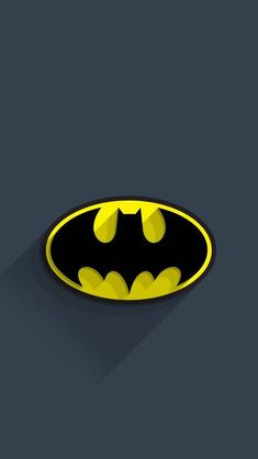 Yellow wallpaper: ↑↑tap and get the free app! Batman Arkham City, Batman Arkham Knight, Batman E Superman, Batman Dark, Batman Logo, Batman The Dark Knight, Batman Tattoo, Gotham, Superhero Logos
