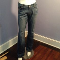 All 7 for mankind blue Demin All 7for manking blue Demin , gently used. 7 for all Mankind Jeans Boot Cut
