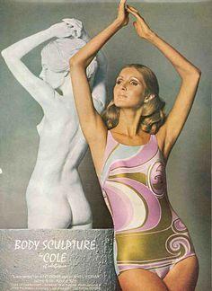 a2f6dd3d1013a late '60's Bodysuit Lingerie, Bikini Photos, 1960s Fashion, Bathing  Beauties, Swimwear