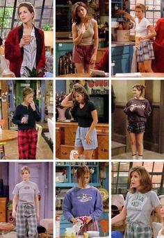 Rachel green's fashion outfits in 2019 rachel green outfits, Outfits Casual, Hipster Outfits, Mode Outfits, Retro Outfits, Vintage Outfits, Grunge Outfits, Throwback Outfits, Vintage Fashion 90s, Hipster Hair
