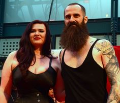 1st Place: Gabor Kraft from Hungary with Lexy Lu https://www.facebook.com/LexyLuModel  Photo credit: Si - Pinup UK — at London Tattoo Convention Tobacco Docks.